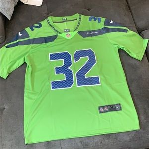Chris Carson Color Rush Jersey